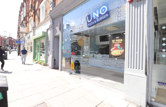 Restaurant/cafe to let – Balham High Road